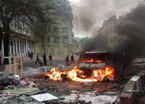2424596 02.05.2014 Массовые беспорядки в Одессе 2 мая. Александр Гагарин/РИА Новости